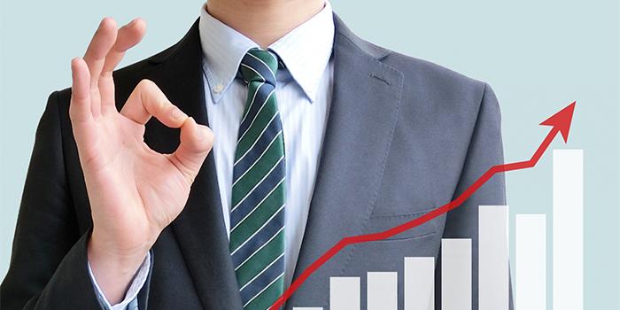 成長を続ける会社の安心感