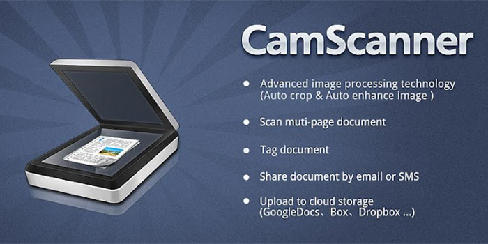 CamScannerの機能一覧